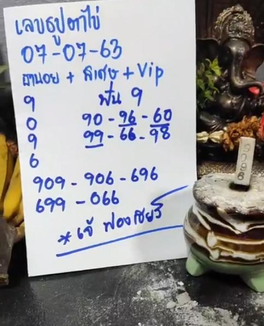 เลขเด็ดหวยฮานอยพิเศษ วันที่ 07/07/63
